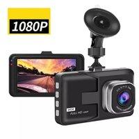 """Full HD 1080P Dash Cam Recorder Вождение для автомобильного DVR Камера 3 """"Цикл запись Ночной Широкий Угловой Видеорегистратор Видеорегистратор"""