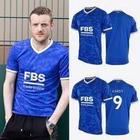 LCFC 2021 2022 Leicester casa futebol jerseys cidade 9 # vardy fãs de futebol camiseta de alta qualidade (escolha flocando)