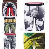 Cheap Ethika Boxers Shorts Mens Sport Biancheria intima Skateboard Skateboard Fashion Streched Legging Shorts Shark Cartoon Type Type Boxer Long Boxer Slip C111909