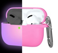 Luminous night lights Protective Silicone Cute Cases for apple airpod pro 1 2 Wireless Bluetooth Headphones Earphone Charging Box Soft Rubber Shell Cover With Hook