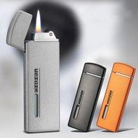 Ultra mince Jet Compact Fire Free Mini Mini Gonflable Butane Butane Gaz Torche Torche de gaz Gadgets pour hommes Dropshipping