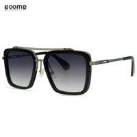 eoome luxo novo design mach sete de alta qualidade homem mulheres quadrados quadrado óculos de sol de alto nível óculos Óculos Eter oculos de sol macho uv400 x0125