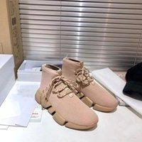 2021 Новый вязаный носок knekersDesigner Shoes мужские женские стритальные вязаные середины кроссовки сетки легкие весы бегуна обувь с коробкой размером 35-46