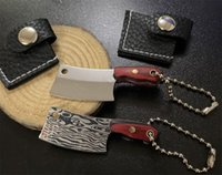 Toptan Kanca Raylar Çok fonksiyonlu Anahtarlık Küçük Pocket Bıçak Anahtarlık Mini Kasap Bıçaklar Kolye Acil Aracı Kolye Erkekler Hediye