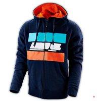 Pull pull de costume de course de moto, hoodie de motocross, le même style est personnalisé