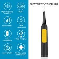 Ultrasónico eléctrico Sonic Dental Scaler LED Mostrar Diente Cálculo Removedor Limpiador Manchas Dientes Tartar Herramienta Blanco Dientes Tartar