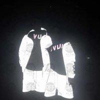 21ss мужские женские дизайнеры куртки повседневные хип-хоп ветровка светоотражающий солнцезащитный крем куртка классическая одежда бренда мужская одежда любителей спортивного пальто 2555