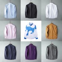 Designer Mens Dress Shirts Fashion Casual Shirt Shirt Brands Men Camicie Primavera Autunno Slim Fit Shirts Chemisis de Marque Versia Hommes
