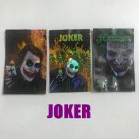 Embalajes vacíos Bolsas de embalaje Joker Mylar Bolsa 3 Tipos Resellable Olor Paquete de embalaje de plástico a prueba de polvo Baggies DHL gratis