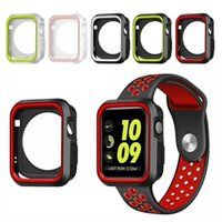 360 full Screen protector Bumper Frame matte hard Case for Apple watch 6 SE 5 4 3 2 1 cover Tempered glass film for iwatch 4 5