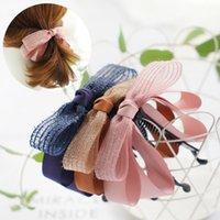Nouvelle Corée Style Sweet Pow-Cheveux Mignonne Arc Banana Coiffure Cheveux Femmes Fashion Cheveux Accessoires Invisible Pinceaux de cheveux et clips