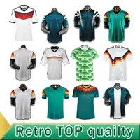 1990 1992 1994 독일 레트로 축구 유니폼 Littbarski 발락 홈 셔츠 1998 1988 Kalkbrenner Klinsmann Matthias 1996 2004 축구 셔츠