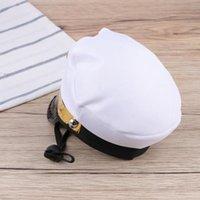 Ropa de perro Divertida del sombrero de mascotas Cabeza de fantasía Accesorios de disfraces de los accesorios PO para el cachorro de gato (marinero)
