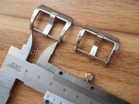 316 Stainless Steel Silver brush or polish Pre-V buckle Watch clasp Buckle in 22mm 24mm 26mm Pam Watches