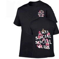 Männer T-Shirts Mode Europäische und amerikanische High Street Trend T-shirt Männlicher weiblicher Brief Druck Kurzärmelige Hip-Hop Skateboard-Persönlichkeit