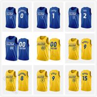 Пользовательские напечатанные 2021 Восходящие звезды Баскетбол Ламело Балл Энтони Эдвардс Ja Morant Zion Michael Wisherson James Porter Jr. Wiseman Jerseys
