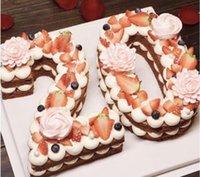 Große Silikon 0-9 Zahlen Formen Arabische Zahl Kuchenform Backform Für Geburtstagskuchen Dekorieren Werkzeuge Küchenfests