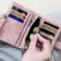 Wallets Fashion Women Ladies Leather Purse Money Clip Wallet Clutch Card Bag Holder Gift