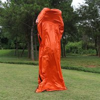Saco de dormir cobertor de emergência impermeável térmica para sobrevivência ao ar livre Camping Camping Camp Dormindo Engrenagens de dormir Saco de dormir Lifesaving fria 13 Z2