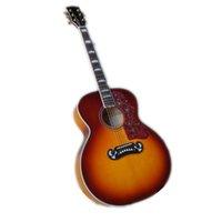 사용자 정의 43 인치 어쿠스틱 기타, 햇살 기타, 할로우 200 기타, 메이플 바디, 마호가니 목