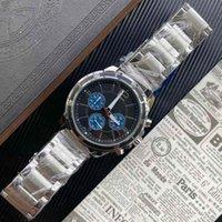 2021 탑 판매 망 시계 42mm 스테인레스 스틸 남자 시계 날짜 Etxquartz 손목 시계 슈퍼 발광 남자 시계 손목 시계