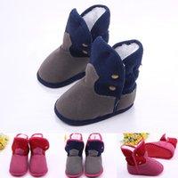 First Walkers Baby Booties Girl And Shoes Walker For Winer Snow-booties Infant Prewalking Winter Shoe