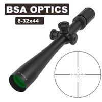 BSA 광학 8-32X44 AO 사냥 범위 riflescope 30mm 튜브 직경 스나이퍼 기어 공기 소총에 대 한 정면 시력 긴 눈 구호 라이플 범위