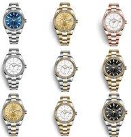 2021 Authentieke Luxe Horloge Heren Automatische Mechanische Kalender 42mm Rvs Sky-Dweller GMT Heren Lichtgevende Mode WaterPoo Top