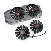 2 unids 95mm FDC10M12S9-C Ventilador de la tarjeta Vidro para Asus GTX1070 1070ti 8GB Cerberus Advanced GPU GPU Tarjeta Graphic Fan T129215SM