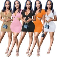 Sexy Deep V-neck Cleavage Club Party Dress Woman Summer Short Sleeve Waist Band Cut Out Vestido Chic Open Back Fitness Dresses