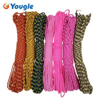 Yougle Paracord 550 Cordon de parachute Cordon Cordon Mil Spec Type III 7 Strands 100ft 31M Camping Camping Equipment Equipment 53-59
