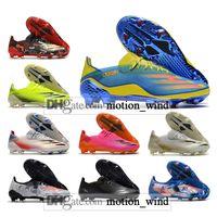 Hediye Çantası Erkek Düşük Ayak Bileği Futbol Çizmeler X Ghosted.1 FG Firma Zemin Cleats Ghosted 20.1 Açık Futbol Ayakkabıları
