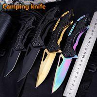 Camping Hunting Knife Blade Folding Knives Survival Edc Multi Military Pocket Fruit cutter
