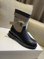 Luxus-Knöchelstiefel mit verstellbarer Spitze und gekerbter Sohle-Reißverschluss Lucky-Stern in Kastengröße 35-40