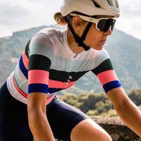 Verano maap ciclismo jersey mujeres camisa de manga corta transpirable mtb bicicleta jersey bicicleta ropa de secado rápido Ropa Maillot Ciclismo H1020