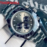 Classic Men Sapphire Watch 40mm Full Functional Automatic Watches Movement Mechanical 316L Stainless Steel Wristwatches Clock Bracelet