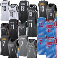 Nouveaux pas chers 13 Harden Kyrie 11 Mens Nett 2021 Kevin Neuf 7 Durant Brookllyn Jersey Basketball Jersey Coutsed Livraison Gratuite