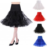 Skirts 2021 Spring Cosplay Petticoat Woman Underskirt 65CM Length Knee Short For Wedding 3 Layers Puffy Organza Evening Tutu