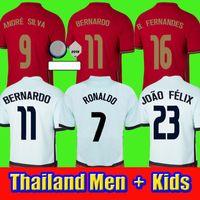 2021 2022 Ronaldo Fussball Trikots Fernandes Diogo J. Danilo Joao Felix Pepe André Silva 20 21 22 Football Hemden Männer + Frauen und Kinder Kit