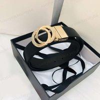 2021 Мода вращающаяся G пряжка кожаный ремень с личим узор и женские мужские ремни для мужчин Золото, серебро, бронза