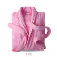 100% algodão terry roupão sólido sleepwear mulheres manga comprida banho roupão quimono femme vestido de vestido noiva vestes