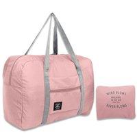 Luxurys Designers Bags 2021 New Nylon Foldable Travel Bags Unisex Large Capacity Bag Luggage Women WaterProof Handbags Men Trave