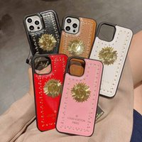 fashion logo pu phone cases for iphone 12 pro max 11 11Pro 11ProMax 7 8 plus X XR XS XSMAX designer cover shell
