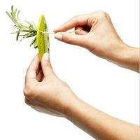 Kale Chard Collard Greens Herb Stripper Looseleaf Rosemary Thyme Loose Leaf Herb Stripper Kitchen Gadgets Vegetable Tools 50pcs Send DHF5281