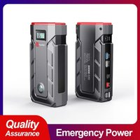 20000mAh Car Jump Starter Power Bank Emergency battery Quick Charger Auto Booster Start Device with Compass whth LED display screen B9