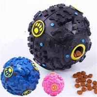 Giocattoli per cani Pet Cucciolo Sound Ball Perdita Food Ball Sound Toy Ball Pet Dog Cat Squeaky Chews Cucciolo Squeaker Sound Pet Supplies Gioca 297 S2