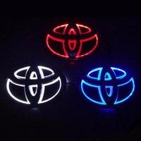 2021 5D 자동차 로고 배지 LED 가벼운 도요타 (무료 배송)