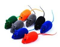 Rato pequeno do rato do ruído do brinquedo do rato do rato que joga o presente para o jogo do gato do gatinho 6 * 3 * 2.5cm