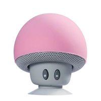 100x wholesale cartoon mushroom wireless bluetooth speaker waterproof suction cup mini bluetooth audio home outdoor portable stand DHL