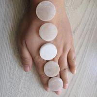 slice selenite circle 2cm Rough yoga engergy raw healing crystal home decora christmas gift